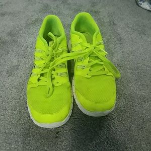 Yellow/green shoes